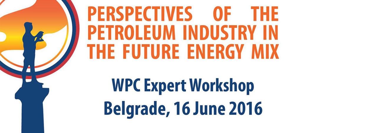 WPC – WORLD PETROLEUM COUNCIL EXPERT WORKSHOP